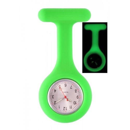 Siliconen Verpleegstershorloge Glow Groen