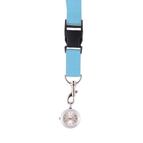 Lanyard/Keycord Horloge Hemelsblauw