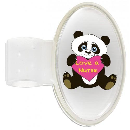 Stethoscoop Naam Badge Panda