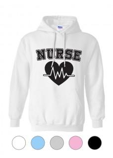 Gildan Hoodie Nurse Number 1 EKG