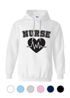 Gildan Hoodie Nurse EKG
