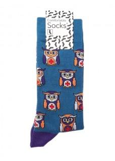 Happy Dames Sokken Uiltjes