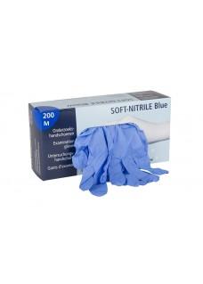 Handschoenen Nitrile Blauw M