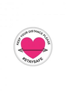 Button Keep Distance