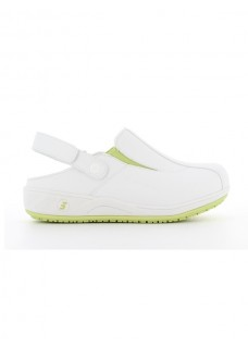 Oxypas Safety Jogger Carinne Wit/Groen