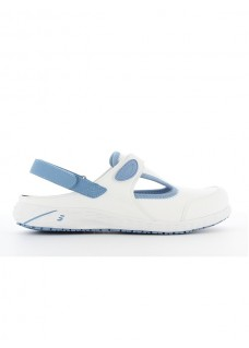 Oxypas Safety Jogger Carly Wit/Blauw