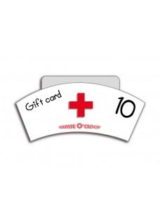 Cadeaubon 10 euro Nurse O'Clock