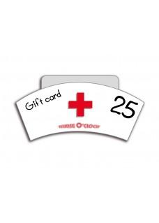 Cadeaubon 25 euro Nurse O'Clock