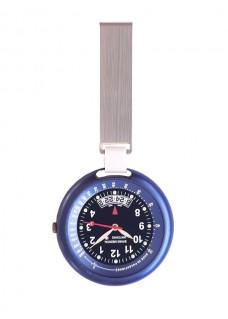 Swiss Medical Horloge Professional Line Staal Blauw L.E.