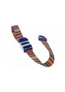 Stuwband / Tourniquet Barcode blauw
