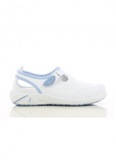 Safety Jogger Lina Wit/Blauw