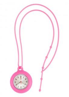Siliconen Lanyard Horloge Roze