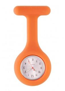 Standaard Siliconen Verpleegstershorloge Oranje
