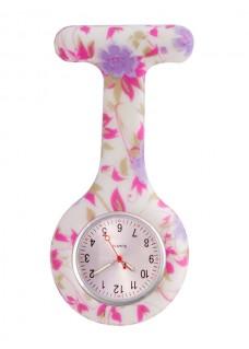 Siliconen Horloge Verpleegkundige Wild Garden