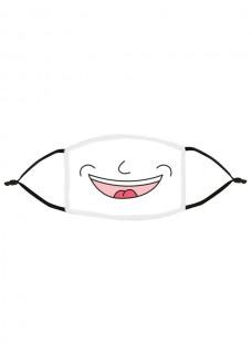 Stoffen Mondmasker Smile