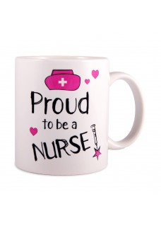 Mok Proud to be a Nurse 2 Wit
