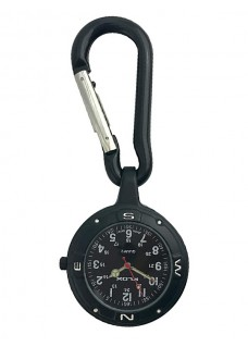 Karabijnhaak Horloge NOC451 Stealth Black
