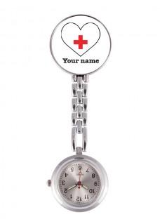 Verpleegstershorloge Wit Hartje