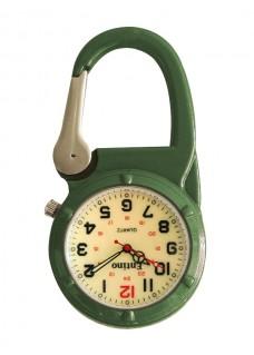 Knip Horloge NOC470 Lumineus Groen