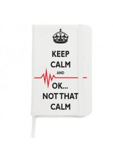 Notitieboek A5 Not That Calm