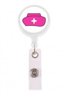 Badge / ID Jojo Nurse Roze