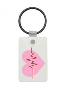 USB Sleutelhanger EKG Roze