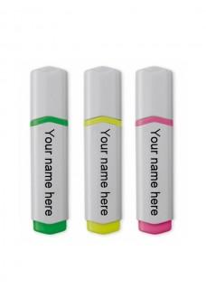 Highlighter/Markeerstift 3 Pak Medische Symbolen Roze