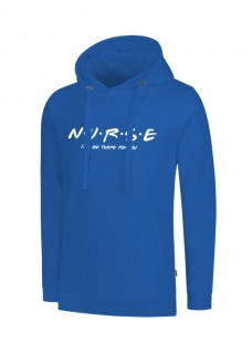 Hoodie Nurse For You Blauw