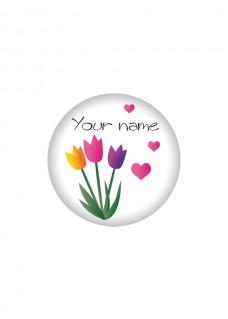 Button Bloemen
