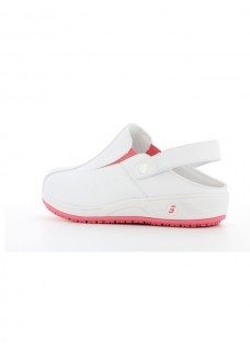 Oxypas Safety Jogger Carinne Wit/Fuchsia