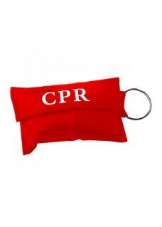 CPR Masker Sleutelhanger Rood