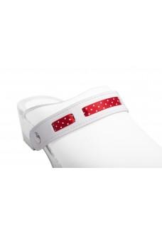 Click Strap Polka Red
