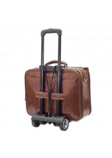 Elite Bags DOCTOR'S Bruin Leder