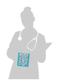 KEEN'S – Verpleegkunde Organizer Symbolen Groen + GRATIS ACCESSOIRES