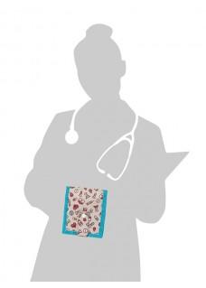 KEEN'S – Verpleegkunde Organizer Symbolen Pastel + GRATIS ACCESSOIRES