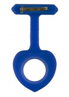 Siliconen Hoesje Hartje Donkerblauw
