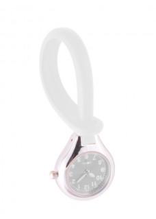 Siliconen Hang Horloge Wit