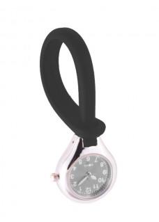 Siliconen Hang Horloge Zwart