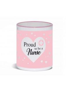 Mok Proud to be a Nurse 3 Roze