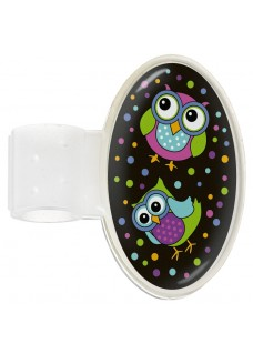 Stethoscoop Naam Badge Owl Black Party