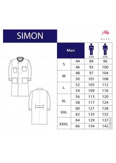UIT ASSORTIMENT: maat 54 Haen Lab coat Simon 71010