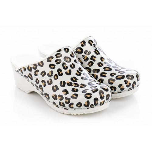 Sanita Model 314 Leopard Wit