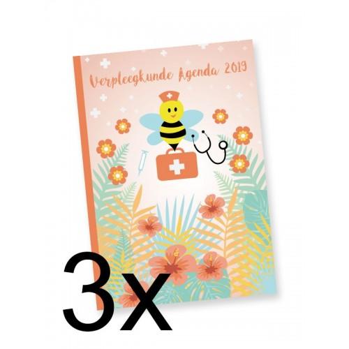 3x Verpleegkunde Agenda 2019 (extra voordeel)