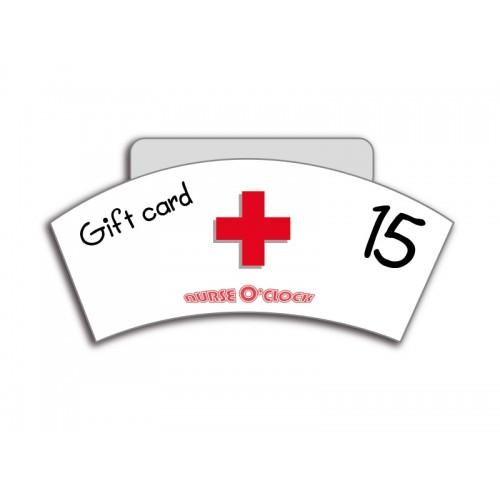 Cadeaubon 15 euro Nurse O'Clock