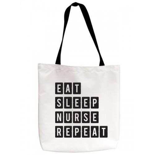 Tote Draagtas Eat Sleep Nurse Repeat