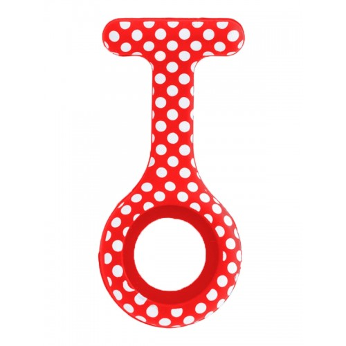 Siliconen Hoesje Polka Dots Rood