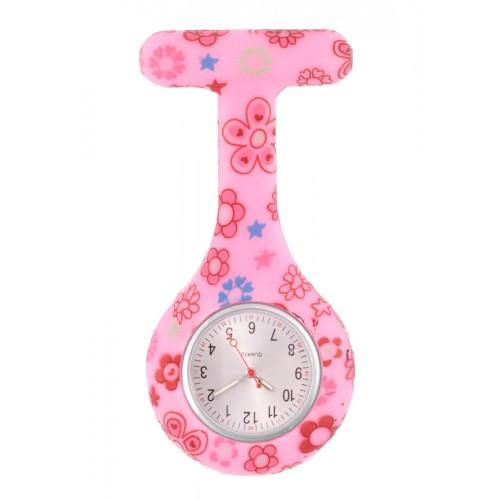 Siliconen Horloge Verpleegkundige Flower Draws