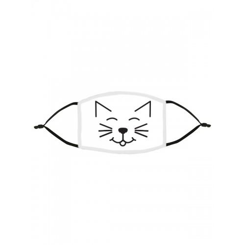 Stoffen Mondmasker Kat