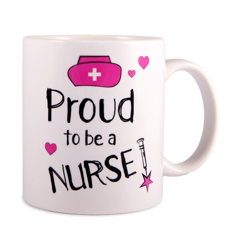 Mok Proud to be a Nurse 2 Wit