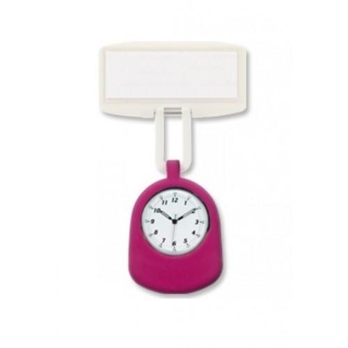 Verpleegstershorloge CLIPwatch Broche Roze